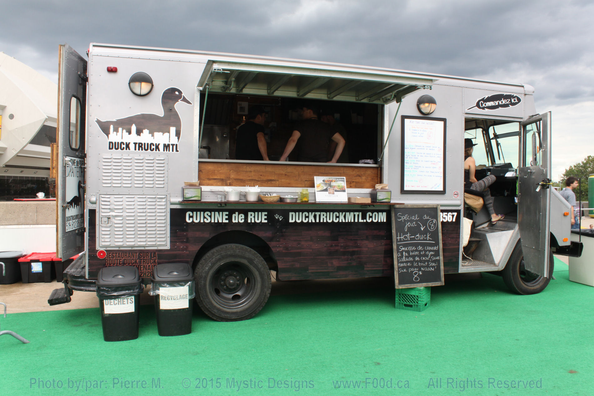 Menu Air De Boeuf Food Truck
