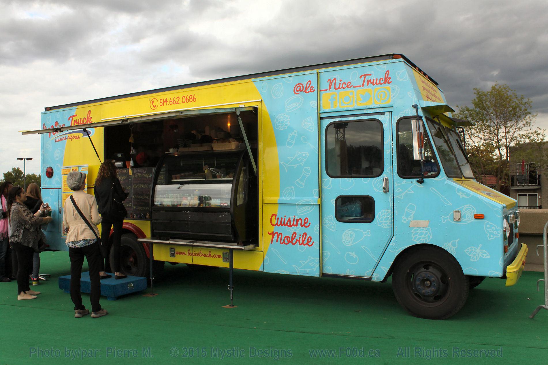 Mi Corazon Food Truck Menu